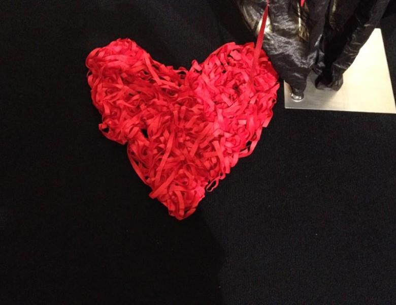 Valentines concept - Bleeding heart